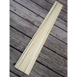 "1 Dozen 11/32"" Poplar Shafts"