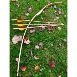 "Bow & Arrow You-Finish Combo - 71"" Longbow + 3 Arrows"