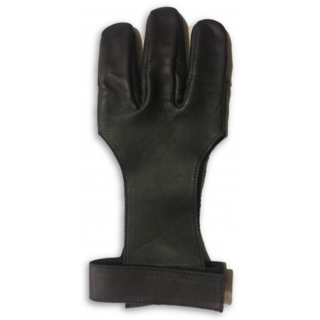 Brown Leather Shooting Glove