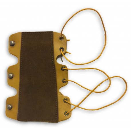 Brown Leather Arm Guard